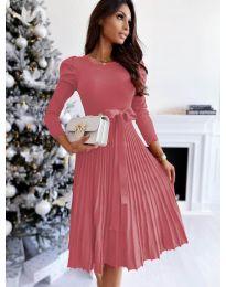 Obleka - koda 3939 - roza