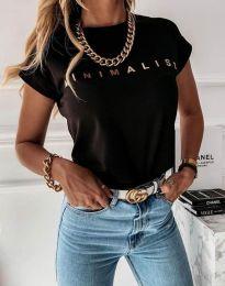 Majica - koda 4078 - črna