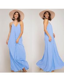 Obleka - koda 0508 - svetlo modra