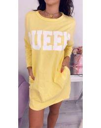 Obleka - koda 883 - rumena