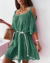 Obleka - koda 6954 - zelena