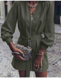 Obleka - koda 820 - olivna