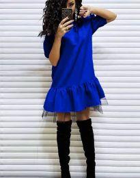 Obleka - koda 2856 - modra