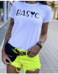 Majica - koda 3017  - 1 - bela