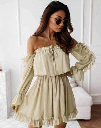Obleka - koda 0223 - barva šampanjca