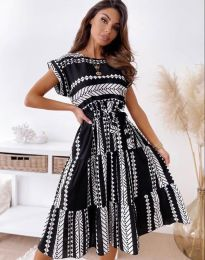 Obleka - koda 2660 - črna