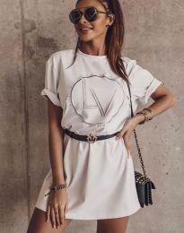 Obleka - koda 8205 - bela