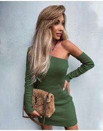 Obleka - koda 4933 - olivna