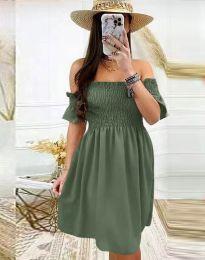 Obleka - koda 1409 - olivna