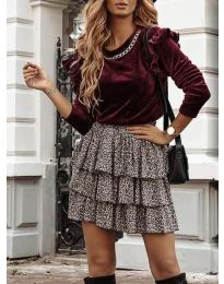 Bluza - koda 4948 - bordo