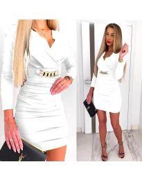 Obleka - koda 8999 - bela