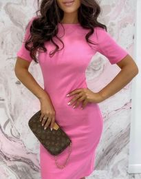 Obleka - koda 44477 - roza