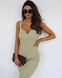 Obleka - koda 10033 - zelena