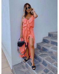 Obleka - koda 0081 - oranžna