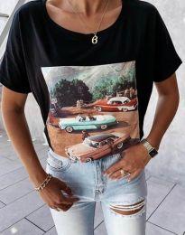 Majica - koda 2460 - črna