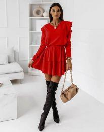 Obleka - koda 12042 - rdeča