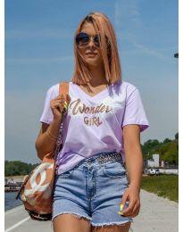 Majica - koda 4261 - vijolična