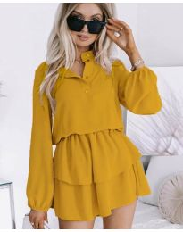 Obleka - koda 4093 - gorčica