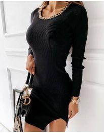 Obleka - koda 4545 - črna