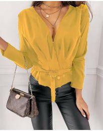Bluza - koda 5525 - rumena