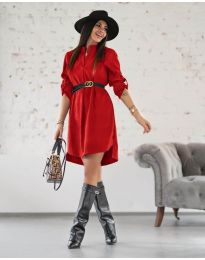 Obleka - koda 9601 - rdeča