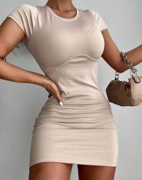 Obleka - koda 12833 - bež