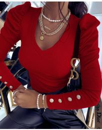 Bluza - koda 2065 - 1 - rdeča