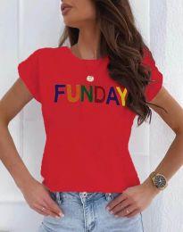 Majica - koda 2923 - 3 - rdeča