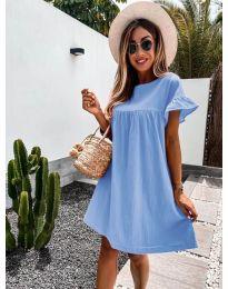 Obleka - koda 744 - svetlo modra