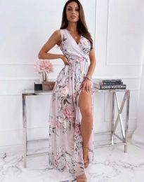 Obleka - koda 4801 - 2 - cvetni