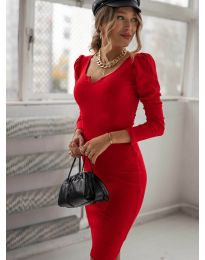 Obleka - koda 11548 - rdeča