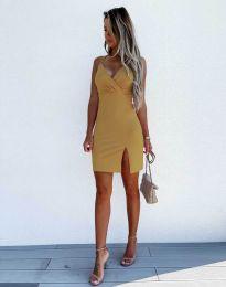 Obleka - koda 8979 - gorčica