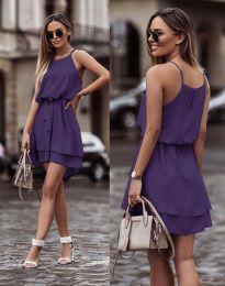 Obleka - koda 2104 - temno vijolična