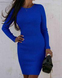 Obleka - koda 0891 - temno modra