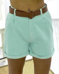 Kratke hlače - koda 2236 - 2 - menta