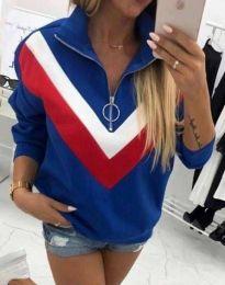 Bluza - koda 7890 - 3 - modra