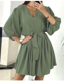 Obleka - koda 6210 - olivna