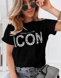 Majica - koda 4357 - črna
