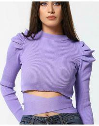 Bluza - koda 4519 - vijolična