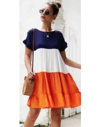 Obleka - koda 741 - oranžna