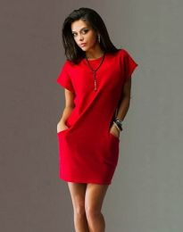 Obleka - koda 1585 - 2 - rdeča
