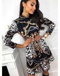Obleka - koda 7272 - 2 - večbarvna