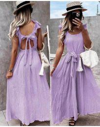 Obleka - koda 4806 - vijolična