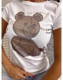 Majica - koda 2170 - bela