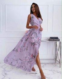 Obleka - koda 4801 - 1 - cvetni