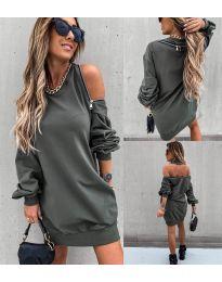 Obleka - koda 296 - olivna