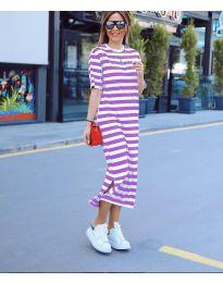 Obleka - koda 9910 - vijolična