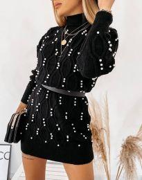 Obleka - koda 3904 - črna
