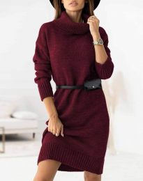 Obleka - koda 0393 - bordo