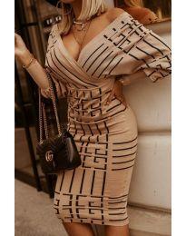 Obleka - koda 4441 -3 - večbarvna